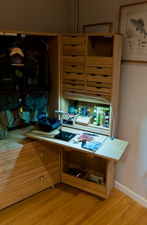 le meuble du p cheur la mouche nicolas39 p che la mouche fly shop. Black Bedroom Furniture Sets. Home Design Ideas