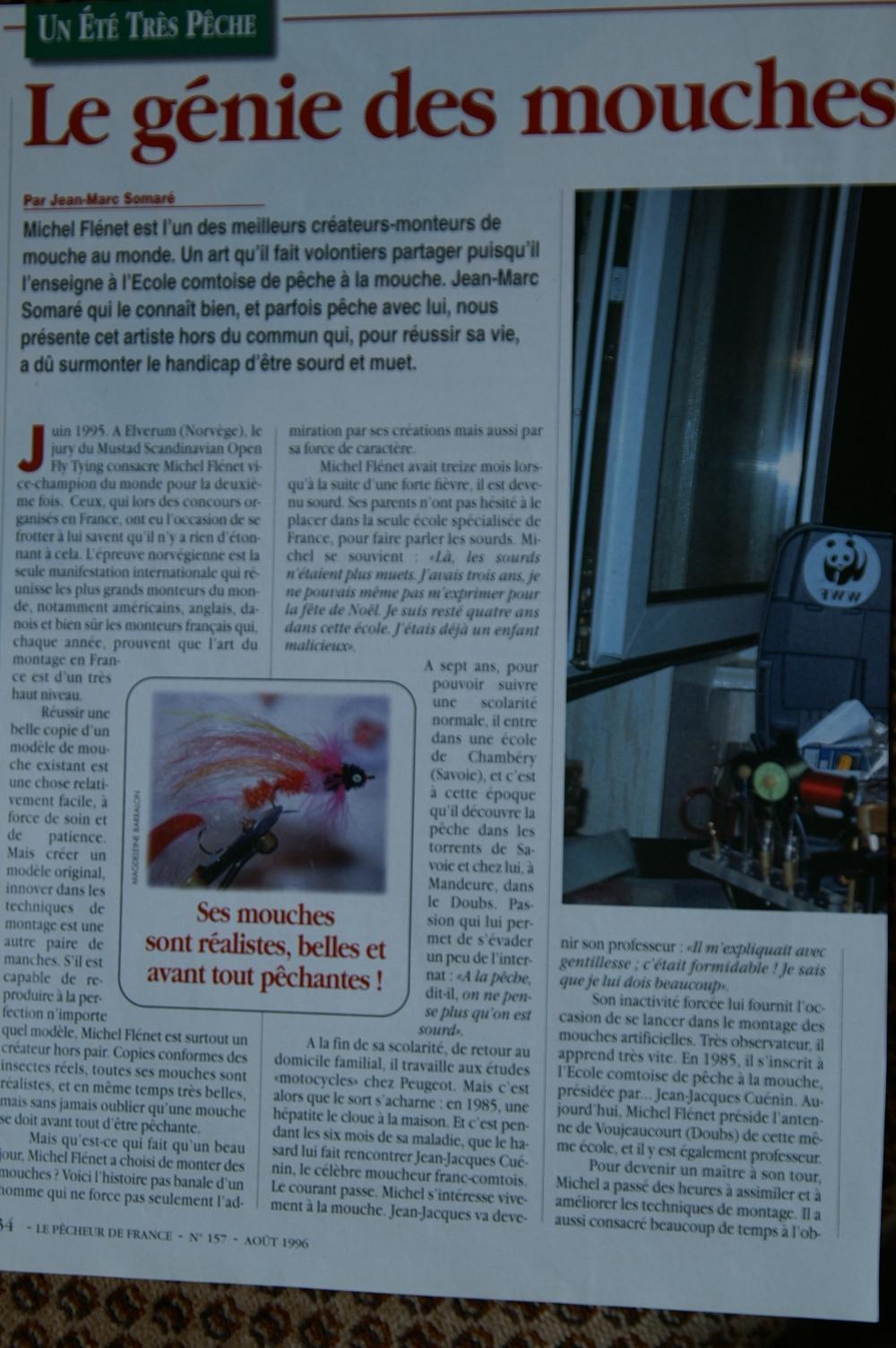 Michel fl net nicolas39 p che la mouche fly shop - Que faire contre les mouches ...