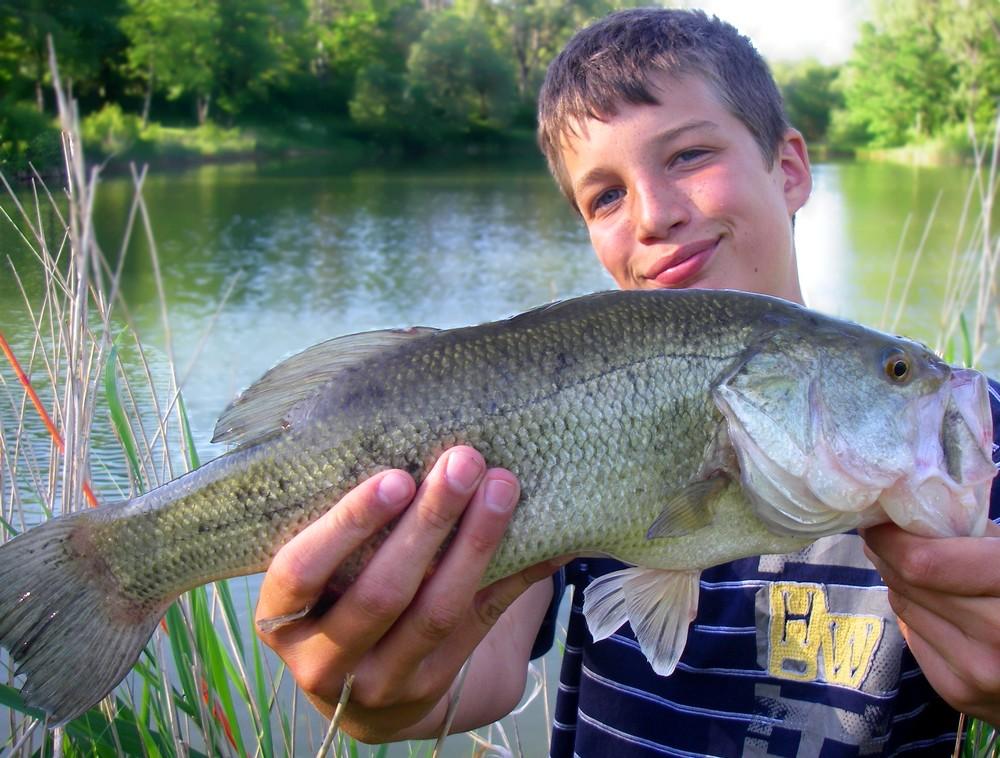 La maison de repos et la pêche