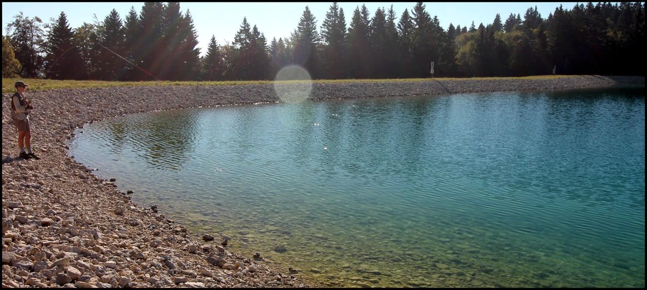 reservoir peche mouche jura
